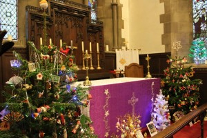 Trees around the High Altar