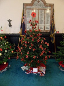 Remembrance Tree by Shadforth Parish Council